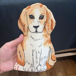 "Dogs by Nina Lyman 8"" Spaniel Dog Vase"